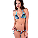 Free Shipping Hot Popular Blue Two Piece Bikini Swimwear Swimsuit (Start from 10 Units) (KFP012)