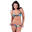 Free Shipping Hot Popular Blue Two Piece Bikini Swimwear Swimsuit (Start from 10 Units) (KFP013)