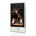 32G Single Card Quad Band Ultra-thin JAVA Flat Touch Screen PC Camera Silver