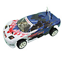 1:10 Scale  Winner Pro 4WD Nitro Gas Blue Super RC Racing Car (YX00141-5)