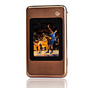 W699 Dual Card Tri-Band Dual Touch Screen Flip Cell Phone Brown