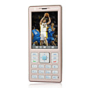 Hantel HT333 Dual Card Touch Screen  Thin Cell  Phone Champagne