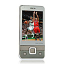 T530+ Ultra-Thin Quad Band Dual Card Touch Screen Cell Phones White(SZSH026)