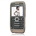 E71 style Dual Band Edition Dual Card Bluetooth  TV  Cell Phone Black