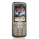 Q1  Dual Card Quad Band FM Cell phone chocolate