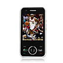FLY-YING F007 Dual Card Quad Band TV Flat Touch Screen Cell Phone mini black