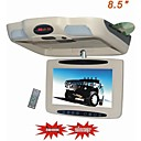 8.5-inch Flip Down Roof Mount TFT LCD Monitor Multimedia  players with FM/IR TRANSMITTER/SD/USB/TV (DVD)