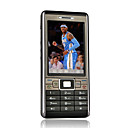Bestel d7000 + quad band dual card bluetooth touch screen del telefono cellulare tv nero (szhx0178)