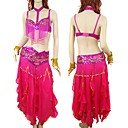 Sexy Belly Dancewear Top Pants Set -- All Accessories Included9818 (LYY018)