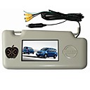 7-inch Sun visor Monitor with USB Port - SD Card Reader for NISSAN (GENISS)