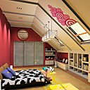 Auspicious Clouds Red Wall Sticker (0586 - 6940118552272)