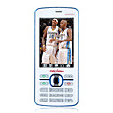 F901 Dual Card Dual Standby Dual Band H-D Camera Cell Phone White (2GB TF Card)(SZRHA104)