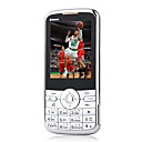 Novo i-730 double carte Bluetooth  cran tactile FM Music argent de tlphone portable (carte 2GB TF) (sz05150424)