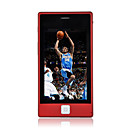 KB0902 Dual Card Dual Standby Dual Band Flat Touch Screen Cell Phone Red (2GB TF Card)