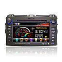 7 pulgadas reproductor a pantalla tctil de coches DVD-TV-GPS-FM-Bluetooth para Toyota Prado 2007 a 2009 (szc2192)