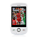NTC Magic Dual Card Dual Band Flat Touch Screen Cell Phone White (2GB TF Card)