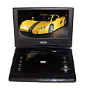 9.6-inch Portable DVD Player with TV Function, USB Port, 3-in-1 Card Reader and Games(SMQC169)