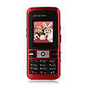 X501 double bande Super Mini mobile rouge (carte 2GB TF) (sz05120043)