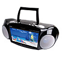 "9"" Inch Multi-functions Portable DVD Player with Analog TV and FM Radio(SMQC161)"