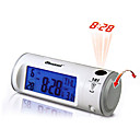 The Newest Sound Controlled Projection Alarm Clock with Turn Round Projector(CEG094)