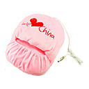 China Love zapatilla USB calefaccin / calor zapatos de regalo para Navidad (ceg119)