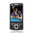 N88 Tri Band Dual Card Dual Standby JAVA Flashlight Flat Touch Screen Cell Phone Black (2GB TF Card)(SZ05440123)