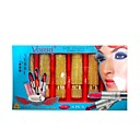 6 Colors VERRI Lipstick Set With Vitamin C - Golden Retro Packaging(TSLR1023-13)