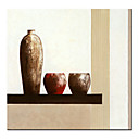 Stretched Handmade Still Life Painting - Free Shipping (0192-YCF101915)5)