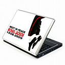 Michael Jackson Series Laptop Notebook Cover Protective Skin Sticker with Wrist Skins (SMQ3413)