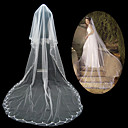 1 Layer Cathedral Length Wedding Veil (TS040)