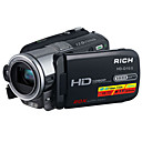 RICH HD-10 5.0MP CMOS 12.0MP Enhanced Digital Camcorder with 3.0inch LCD Screen  5X Optical Zoom 4X Digital Zoom(SMQ5646)