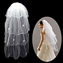 4 Layers Fingertip Length Wedding Veil (TS016)
