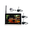 2.4G 4-ch monitor da 7 pollici con kit per bambini 4x telecamera wireless (sfa151)