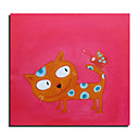 Hand Made Abstract Animal Painting - Free Shipping (0695 -AB-549)