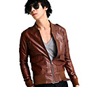 Men's Motorcycle Rider Leather Jackekt(LGT1102-0012)