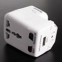 All in one Universal Travel Adapter with USB port(TRA215)