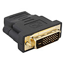 hdmi a dvi 24 +1 m adaptador