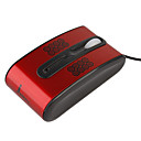 Mini USB/PS/2 Optical Wired Mouse (Red)