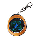"1.5"" LCD Rechargeable Digital USB Photo Frame Keychain (143-Picture Memory Storage)"