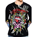 New Arrival Men's Tattoo Design Long Sleeves T-shirt (0482LGT1114-39)