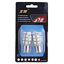 1.56W 18-LED Power-Saving Vehicle Brake Lamp Bulbs (12V White 2-Pack)