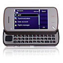 A10 N97 Style Dual Card Quad Band Slide Cell Phone Brown (2GB TF Card)