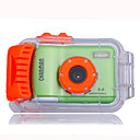 W500N 5.0MP CMOS 12.0MP Enhanced Underwater Waterproof Digital Camera with 2.4 Inch LCD Screen 8X Digital Zoom (DCE1010)