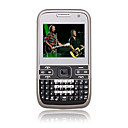 mini E72 Dual Card Quad Band Cell Phone Black (2GB TF Card and Leather Case with Battery)