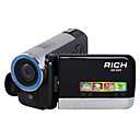 RICH HD-D23 HD 1280X720p 5.0MP CMOS 16.0MP Enhanced Digital Camcorder + Camera with 3.0inch LCD Screen 4X Digital Zoom (DCE196)