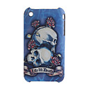 Skeleton  Protective Backside Case Cover for iPhone 3G