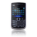 E900 Quad Band Dual Card Dual Cameras WIFI TV JAVA Full Qwerty Keypad Cell Phone Black (2GB TF Card)