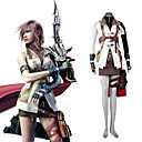 absoluut 1:1 replica Final Fantasy XIII 13 blikseminslag cosplay kostuum (0652-0127-2)