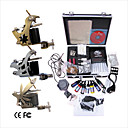 Livraison gratuite Kit Professionnel TATTOO MACHINE srie complte avec 3 machines gun Tattoo (0359-03.16-T016)
