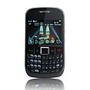 f052 dual quad band scheda cellulare wifi tastiera qwerty java tv nero (2GB TF card) (sz00720668)